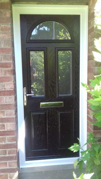 Blackcompositedoor
