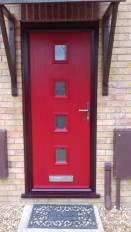 Compositereddoor